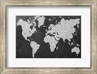 Grey Map Fine-Art Print