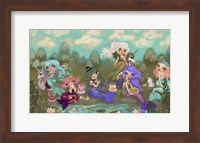 Mermaids Tea Party Fine-Art Print