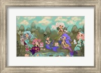 Mermaids Tea Party Fine-Art Print