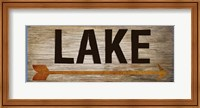 Lake Sign 1 Fine-Art Print