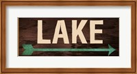 Lake Sign 2 Fine-Art Print