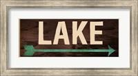 Lake Sign 2 Fine-Art Print