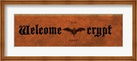 Crypt Welcome Fine-Art Print