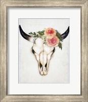Skull Flowers Fine-Art Print