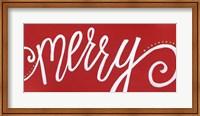 Merry - Red Fine-Art Print