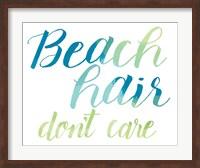Beach Hair Fine-Art Print