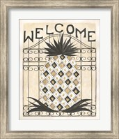 Welcome Pineapple Fine-Art Print