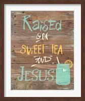 Tea & Jesus Fine-Art Print