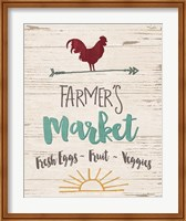 Farmer's Market - Cream Fine-Art Print