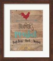 Farmer's Market - Brown Fine-Art Print