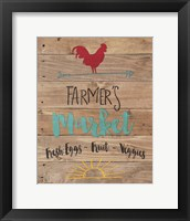 Farmer's Market - Brown Fine-Art Print