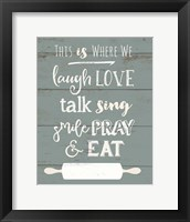 This is Where We Eat Fine-Art Print