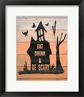 Eat, Drink and Be Scary Fine-Art Print