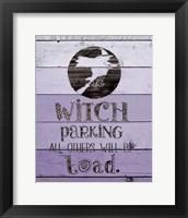 Witch Parking Fine-Art Print