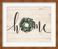 Home Wreath Fine-Art Print