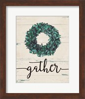 Gather Wreath Fine-Art Print