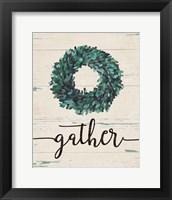 Gather Wreath Fine-Art Print