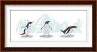 Minimalist Penguin Trio, Boys Fine-Art Print