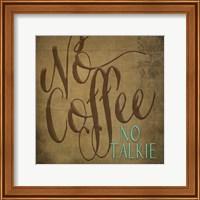 No Coffee Fine-Art Print