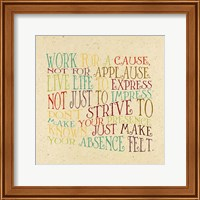 Work for a Cause Fine-Art Print
