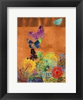 Butterfly Panorama Triptych II Fine-Art Print