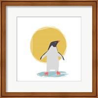 Minimalist Penguin, Boys Part II Fine-Art Print
