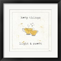 Cuisine Cuties Coffee Hearts Fine-Art Print