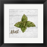 Mint on Wood Fine-Art Print