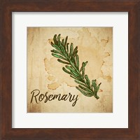 Rosemary on Burlap Fine-Art Print