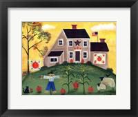 Scarecrow Pumpkin Sheeppsd Fine-Art Print