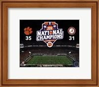 Clemson Tigers 2016 National Champions Fine-Art Print