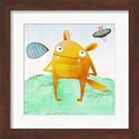 Alien Friend #4 Fine-Art Print