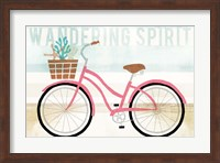 Beach Cruiser Girls I Fine-Art Print