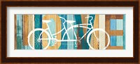 Beachscape Tandem Bicycle Love Fine-Art Print