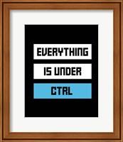 Everything Under Control Fine-Art Print