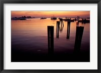 Sunrise on Boats, New Hampshire Fine-Art Print