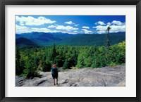 Hiking on Mt Crawford, New Hampshire Fine-Art Print