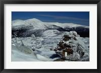 Appalachian Trail in Winter, White Mountains' Presidential Range, New Hampshire Fine-Art Print
