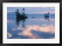 Dawn on Lake Winnepesauke, Moultonboro Neck, Moultonboro, New Hampshire Fine-Art Print