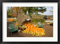 Moulton Farm farmstand in Meredith, New Hampshire Fine-Art Print