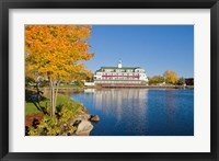 Bay Point at Mill Falls in Meredith, New Hampshire Fine-Art Print