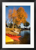 Kayaks, Lake Winnipesauke, New Hampshire Fine-Art Print
