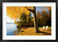 Lodge, Lake Winnipesauke, New Hampshire Fine-Art Print