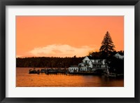 Sunset in Wolfeboro, New Hampshire Fine-Art Print