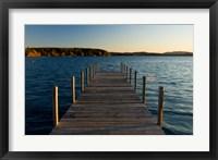 View of  a Lake, New Hampshire Fine-Art Print
