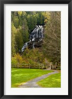Beaver Brook falls in Colebrook, New Hampshire Fine-Art Print
