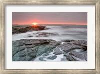 Sunrise near Brenton Point State Park, Newport, Rhode Island Fine-Art Print