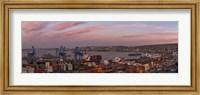 Dawn at Paseo 21 de Mayo, Playa Ancha, ValparaA-so, Chile Fine-Art Print