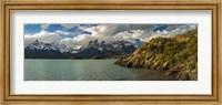 Lake Pehoe, Torres de Paine National Park, Patagonia, Chile Fine-Art Print