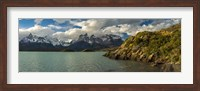Lake Pehoe, Torres de Paine National Park, Patagonia, Chile Fine-Art Print